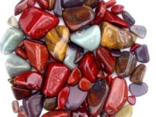 Blog. rocks. tumbled polished