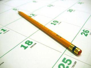Blog. calendar page. 5.09