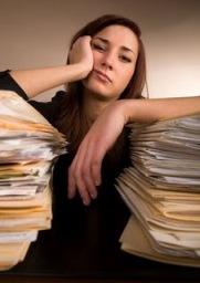 Blog. woman-bored-at-work. 5.2.10