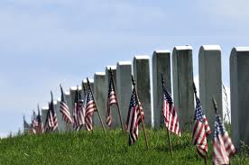 Blog. Graves w. flags. 5.11