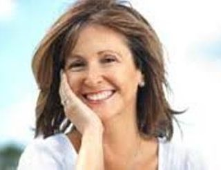 Blog. Happy woman. unused