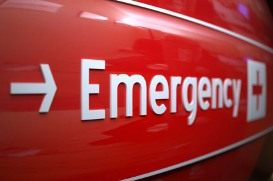 Blog. Emergency room sign. 6.12