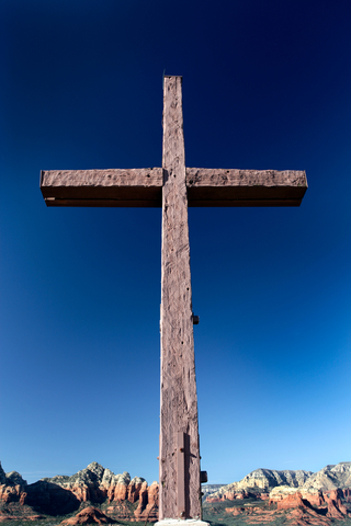 Blog. Wooden cross. 3.28.13