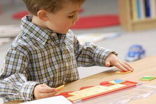 Blog. Kindergarten boy. 3