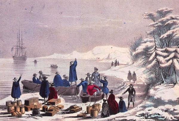 Blog. Pilgrims landing. 11.14