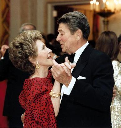 Blog. Ron. Nancy Reagan dancing. 3.16