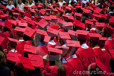 Blog. Graduates-red-cap-gown-6.16