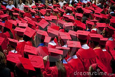 Blog. Graduates-red-cap-gown-6.16