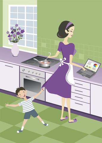 Blog. Mom. Busyness trap. 1.15