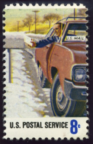 Blog. Rural mail carrier stamp. 12.15