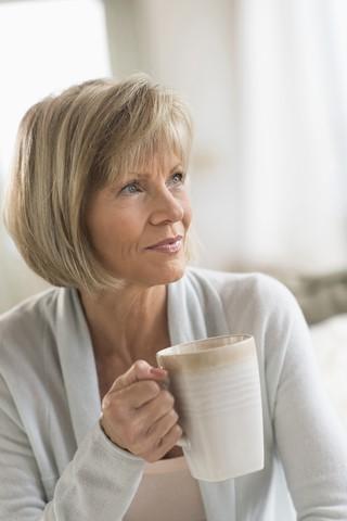 Blog. Thoughtful woman. coffee. 8.17