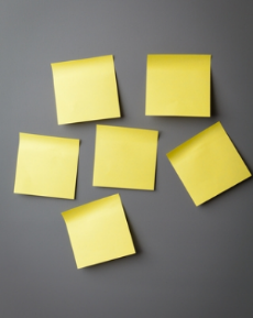 Blog. Sticky notes. 11.12  dreamstime_xs_25326373
