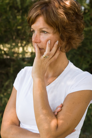 Blog. Woman thoughtful. 7.16