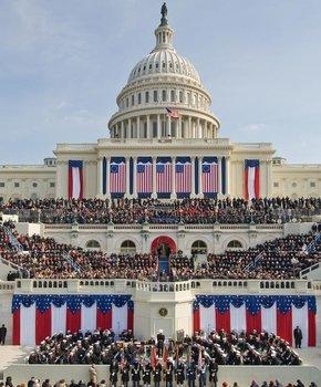 Blog. U.S. Capitol. Inauguration. 1.16