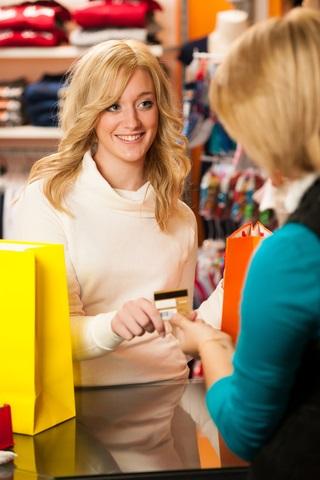 Blog. Woman checkout. 10.17