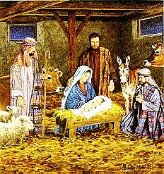 Blog. Christmas stable scene. 12.12