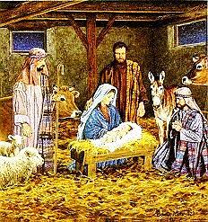 Blog. Christmas stable scene. 12.12