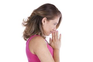 Blog. Woman praying. 8.18