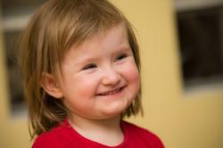 Blog. Happy little girl. 8.1.18