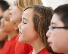 Blog. Children singing 2. 7.20