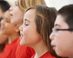 Blog. Children singing 2. 7.20